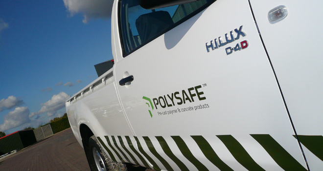 Polysafe level crossing systems van